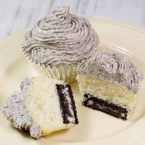 Cake Mix Cookies and Cream Cupcakes [with Gluten-Free Option]
