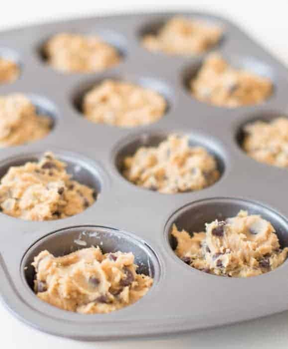 Chocolate Chip Cookie Cups Recipe Chocolate Icing