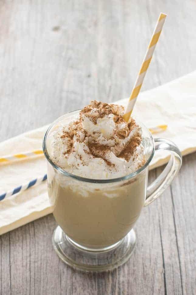 Apple-Banana-Smoothie-with-Peanut-Powder
