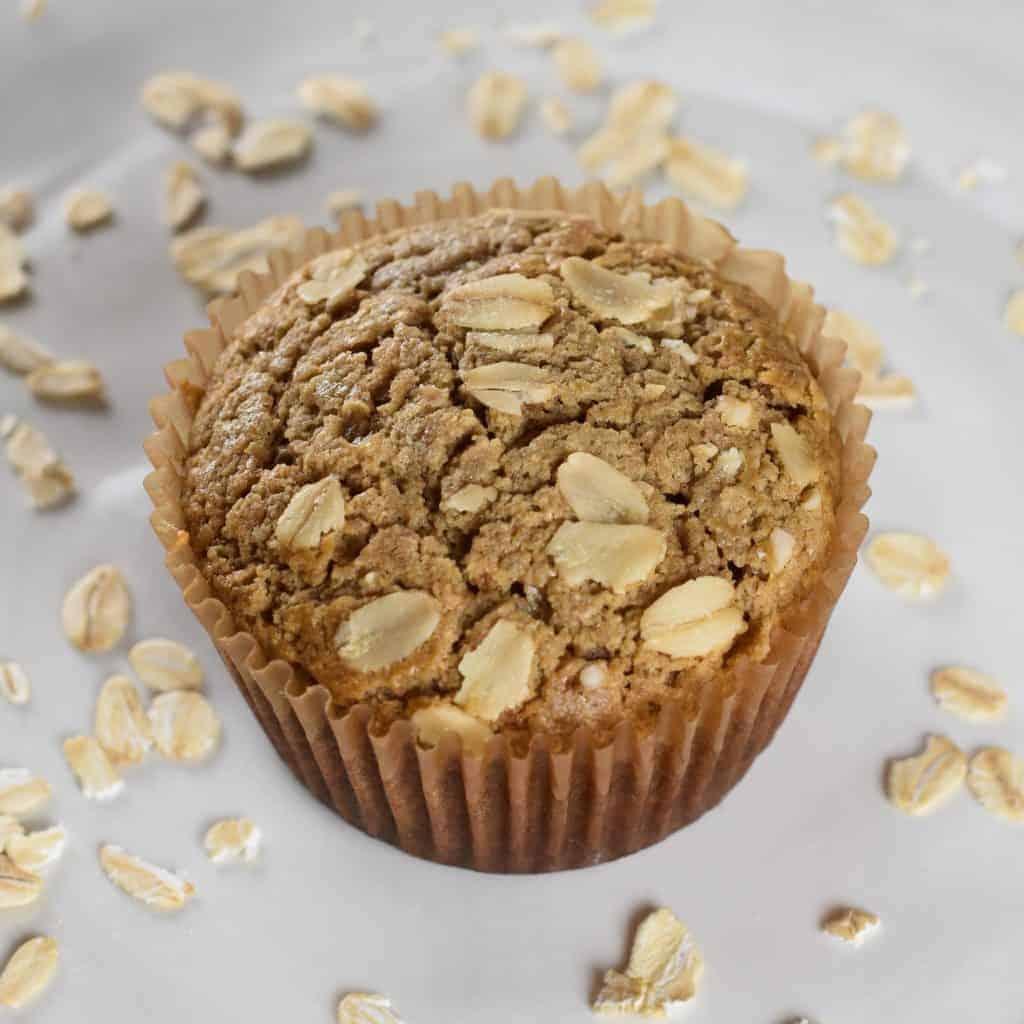 Oat Flour Muffins [Gluten-Free, Refined Sugar-Free]
