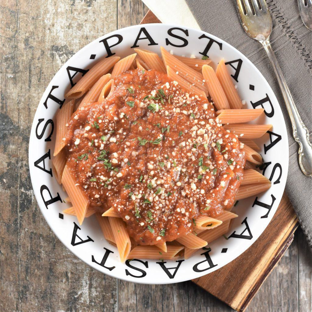 Easy Pumpkin Tomato Sauce