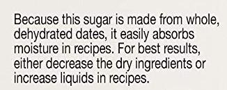 date sugar information