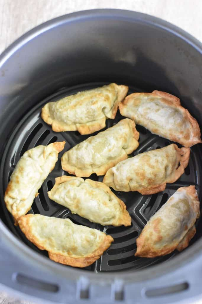potstickers in air fryer after cooking