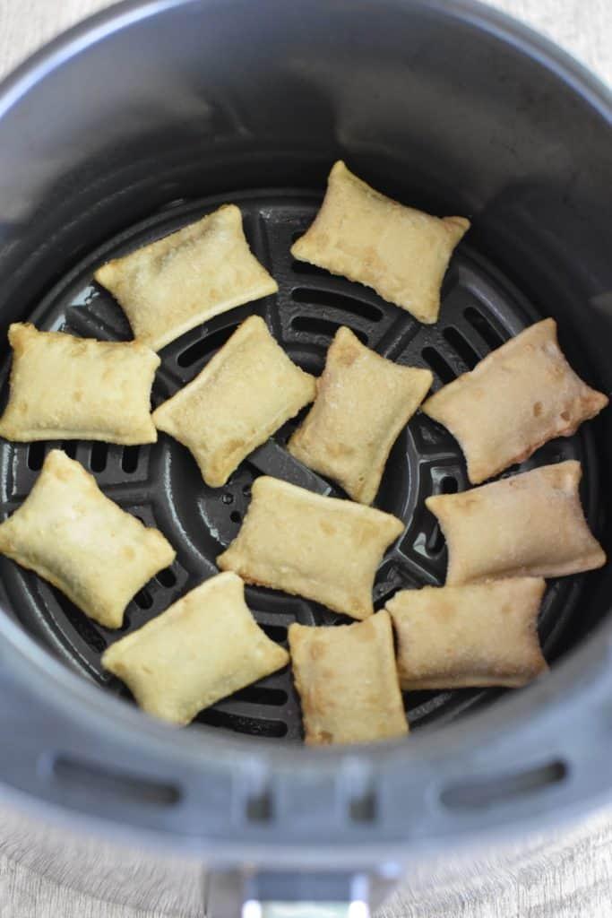 frozen pizza rolls in air fryer before cooking