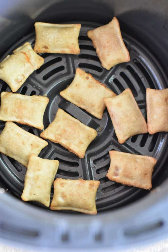 pizza rolls in air fryer after cooking